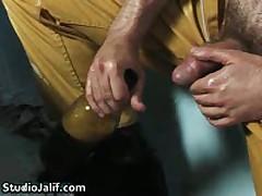 Eduardo Jerking His Fine Gay Cock In Bathtub 2 By StudioJalif