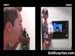 Heterosexual Dudes Getting Homo Surprise Schlong Blow Job 5 By GotSurprise
