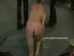 Gay Twink Tied Naked In Bondage Clips