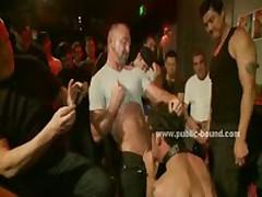 Gay Cocks Enjoy Sadomaso Group Sex