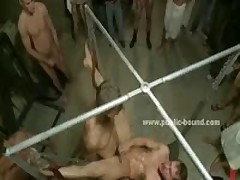Pervert Gays Catching Man Masturbating