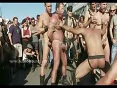 Gay Gang Bang Sex With Group Of Hunks