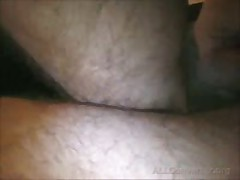 Cock And Cum On Hairy Legs