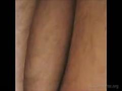 Precum On Hairy Legs