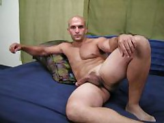 Hot And Hiary Straight Stud Beats His Huge..