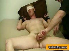 Homo Video Of Cory Getting His Horny Penis Played With Sex Toy 4 By GushedBoys
