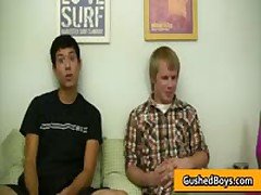 Erick & Austin Homosexual Making Out And Sucking Jizzster Three By GushedBoys