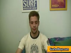 Sean Gets His Amazing Twink Dick Wanked And Strocked 9 By GushedBoys
