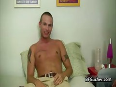 Cory Gets His Fine Penis Worked With Some Vibrating Toy 1 By BFgusher
