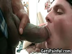 Lucky Dude Gets To Fuck Big Black Cock 3 By Getspainful