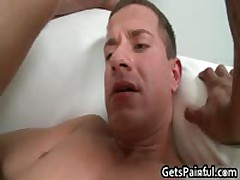 Guy Doesnt Know What Large Sausage Will Penetrate His Anus Four By GetsPainful