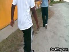 Thug Homie Getting Paid For Fellatio 3 By FuckThug