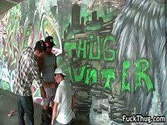 Ghetto Ghetto Sucking Off And Making Out Two Dudes 9 By FuckThug