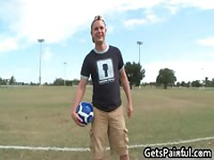 Dude Riding Big Black Pole Gay Porn 1 By GetsPainful