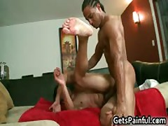 Latino Dude Gets His Anus Ripped By Black Cock 5 By GetsPainful