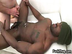 Black Gay Thug Gets His Tight Poopshute Fucked 5 By FuckThug