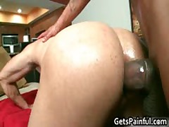 Latino Dude Gets His Anus Ripped By Black Cock 4 By GetsPainful