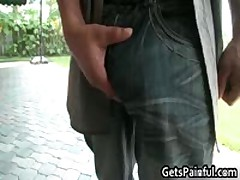 Gay Dude Gets Fucked By Huge Black Jizzster 1 By GetsPainful