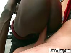 White Dude Gets His Penis Sucked Outdoors 4 By FuckThug