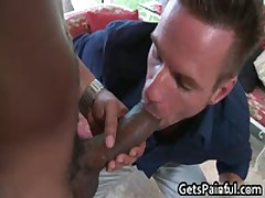 Muscled Stud Gets His Tight Anus Rammed By Black Dick 3 By GetsPainful