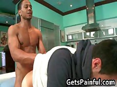 Dude Gets His Hairy Anus Fucked By Black Jizzster 6 By GetsPainful