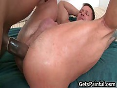 Tattooed Hunk Gets His Tiny Ass Fucked By Black Jizzster 4 By GetsPainful