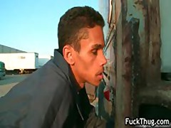 Thug Get Sfucked Up The Anus Outdoors 6 By Fuckthug