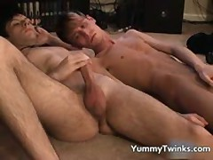 Jared Has Some Company While He Masturbates Off 20 By YummyTwinks