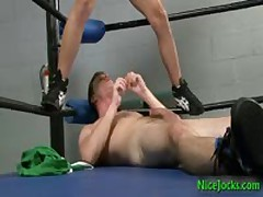 Dallas And Mario Making Out In Boxers Ring 9 By Nicejocks