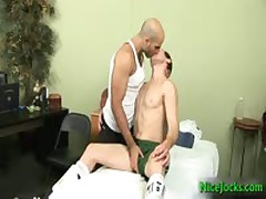 Red Haired Making Out Some Unshaved Athletic 5 By NiceJocks