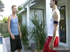 Jocks Suck And Fuck At Swimmingpool 1 By NiceJocks