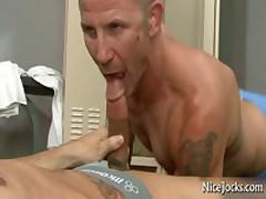 Great Looking Athletic Getting Great Oral Sex By Nicejocks