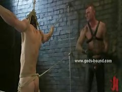 Kinky Pervert Gay In Leather Pants