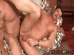 Married Dude Gets His Very First Queer Butt Fuck 2 By MarriedBF