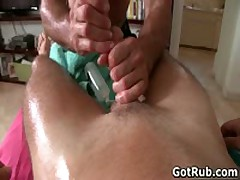 Amazing Aroused Buddy Getting Fine Torso Massages 7 By GotRub