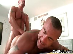 Fine Dude Getting Horny Homo Rubbing 5 By GotRub