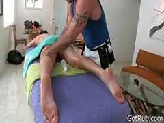 Buddy Getting Poopshute Pounded With Glass Dildo 2 By GotRub