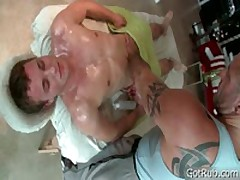 Deep Ass Fuck Penetrating Rubbing Four By GotRub