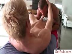 Blondie Gets His Boner Sucked Off By Gotrub
