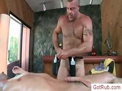 Hot Homo Rubbing Action By Gotrub