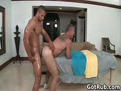 Foxy Buddy Get His Steamy Torso Rubbed And Penis Sucked Off 47 By GotRub