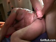 Rubbing Professional Getting His Unshaved Poopshute Banged 2 By GotRub