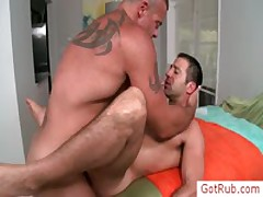 Unshaved Bro Gets Poopshute Banged Stiff By Gotrub