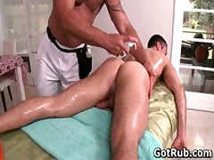 Steamy Dude Get His Steamy Torso Rubbed And Penetrator Sucked Off Four By GotRub