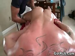 Beefy Buddy Getting His Fine Tatooed Butt Hammered 1 By GotRub