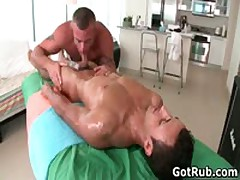 Rubbing Expert Getting His Fine Butthole Hammered By Beefed Guy Three By GotRub