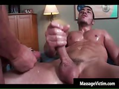 Super Horny Bodied Buddy Getting Oiled For Homosexual Rubbing 9 By MassageVictim