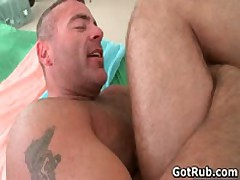 Rubbing Expert Getting His Fine Arse Pounded By Ripped Bro 7 By GotRub