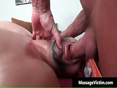 Lucky Dude Gets Amazing Gay Massage With Toy 5 By MassageVictim