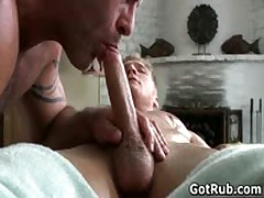 Buddy With Perfect Torso Getting Queer Massage 5 By GotRub